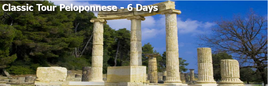 Classic Tour Peloponnese – 6 Days