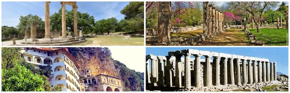 Αρχαία Ολυμπία – Επικούριος Απόλλωνας – Μονή Σεπετού – Λαγκάδια – Λεβίδι