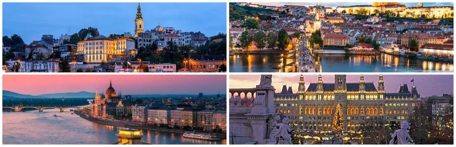 Χριστούγεννα στις Πρωτεύουσες της Κεντρικής Ευρώπης (Βελιγράδι, Βουδαπέστη, Μπρατισλάβα, Βιέννη, Πράγα – Οδική 9 ημέρες) – Αναχώρηση: 22/12/2018