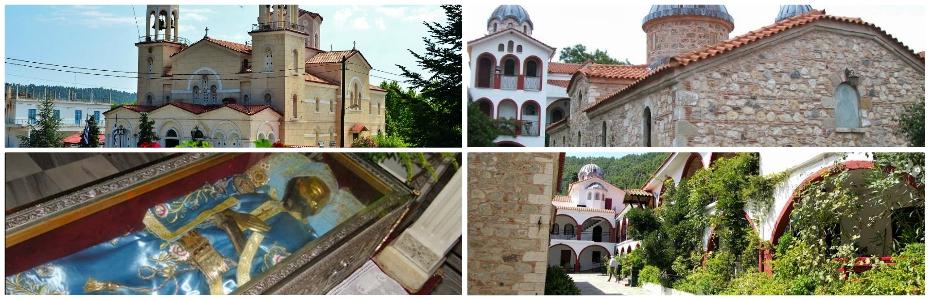 Άγιος Ιωάννης Ρώσος – Μονή Οσίου Δαυίδ